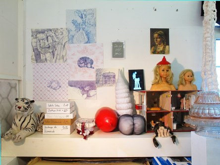 «Im Atelier», Assemblage, Mixed Media, 1997-2017